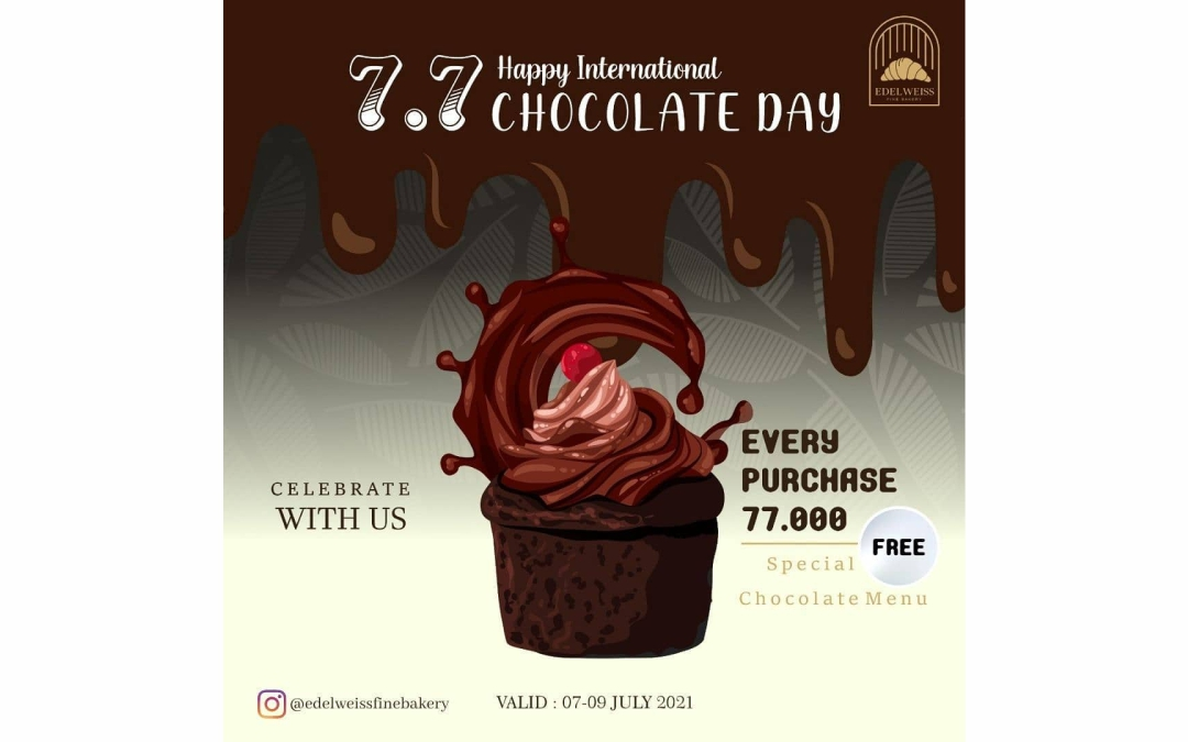 Who doesn't love this sweet thing? Let's Celebrate International Chocolate Day with us!
